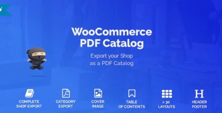You are currently viewing WooCommerce PDF Catalog 1.15.8 – WordPress Plugin