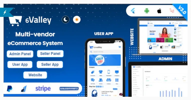 You are currently viewing 6valley Multi-Vendor E-commerce 4.0 Nulled – Complete eCommerce Mobile App