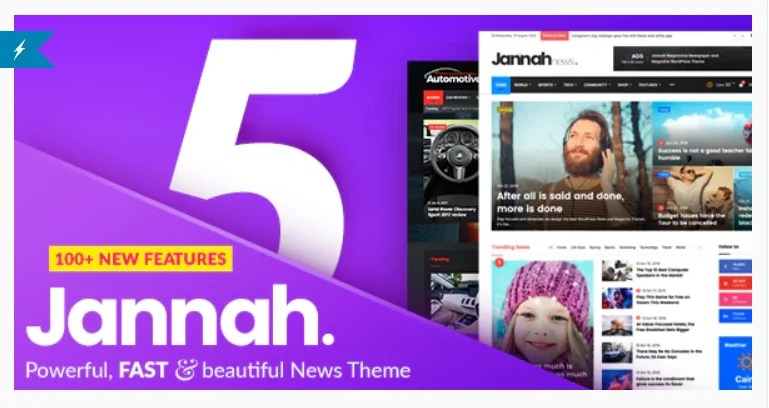 You are currently viewing Jannah 5.4.4 Nulled – Newspaper Magazine News BuddyPress AMP