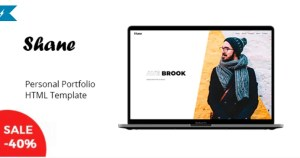 Read more about the article Shane – Personal Portfolio Template