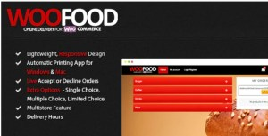 Read more about the article WooFood 2.6.5 Nulled – Food Ordering (Delivery/Pickup) Plugin