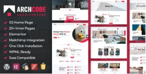 Read more about the article Archcode 1.1 – Architect Design WordPress Theme