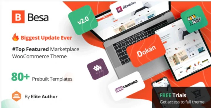 You are currently viewing Besa 2.0.1 – Elementor Marketplace WooCommerce Theme