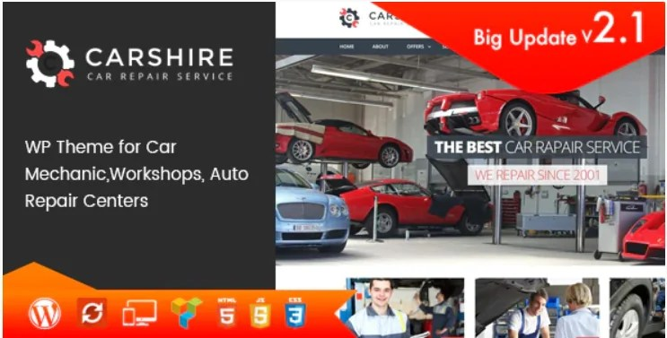 You are currently viewing Car Shire 2.7 – Auto Mechanic & Repair WordPress Theme