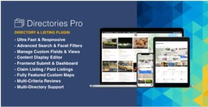 Read more about the article Directories Pro 1.3.81 Nulled – Directory plugin for WordPress