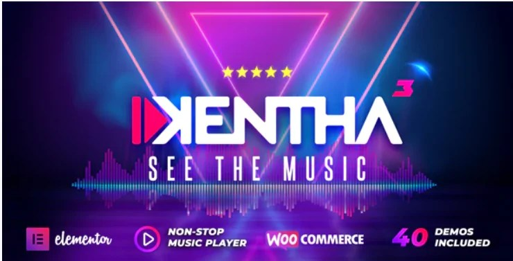 You are currently viewing Kentha 3.2.2 Nulled – Non-Stop Music WordPress Theme with Ajax