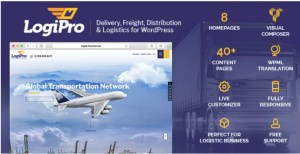 Read more about the article LogiPro 3.1 – Delivery, Freight, Distribution & Logistics for WordPress