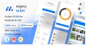 Read more about the article MightyUIKit 3.3.0 – Flutter 2.0 UI Kit with Screen Builder