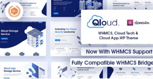 Read more about the article Qloud 2.5 – WHMCS, Cloud Computing, Apps & Server WordPress Theme