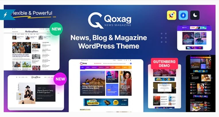 You are currently viewing Qoxag 1.1.0 – WordPress News Magazine Theme