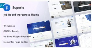 Read more about the article Superio 1.1.3 – Job Board WordPress Theme