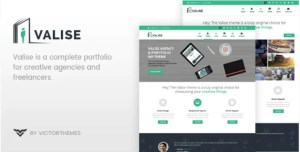 Read more about the article Valise 3.5 – WordPress Personal Portfolio Theme