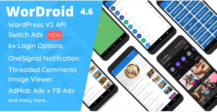 You are currently viewing WorDroid 4.6 – Full Native WordPress Blog App For Android