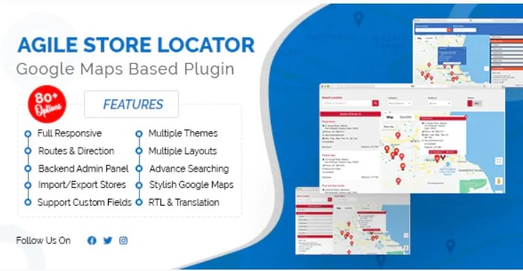 You are currently viewing Agile Store Locator 4.6.36 – Plugin For WordPress Store Locator