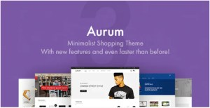 Read more about the article Aurum 3.11 – Minimalist Shopping Theme