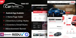 Read more about the article Auto CarForYou 4.0 – Responsive Car Dealer WordPress Theme