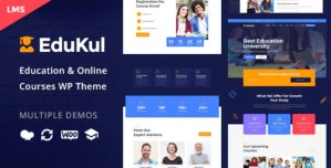 Read more about the article Edukul 1.14 – Online Courses WordPress Theme