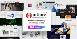 Read more about the article Intime 1.4.1 – Business Consulting WP Theme