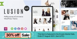 Read more about the article Lusion 1.5.1 – Multipurpose eCommerce WordPress Theme