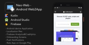 Read more about the article Neo-Web 1.0 – Android Web2App
