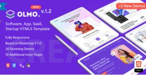 Read more about the article OLMO 1.2 – Software & SaaS HTML5 Template