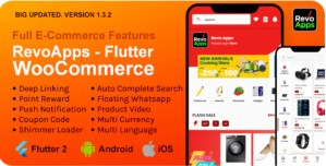 Read more about the article Revo Apps Woocommerce 2.2.0 – Flutter E-Commerce Full App Android iOS