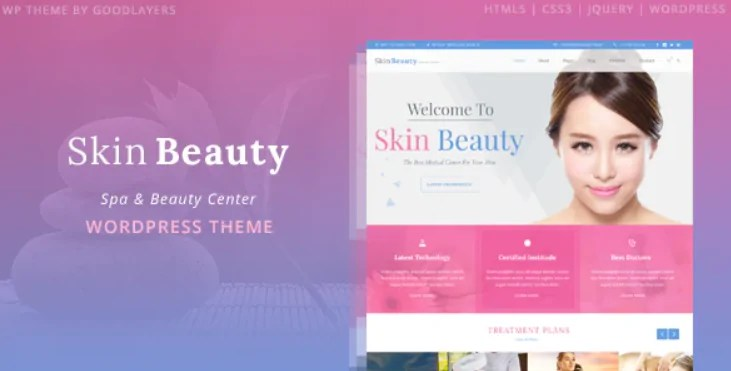 You are currently viewing Skin Beauty 1.3.3 – Spa WordPress Theme