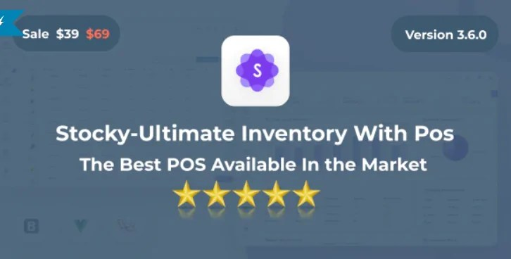 You are currently viewing Stocky 3.6.0 – Ultimate Inventory Management System with Pos
