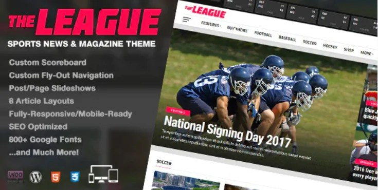 You are currently viewing The League 4.4.1 – Sports News & Magazine WordPress Theme