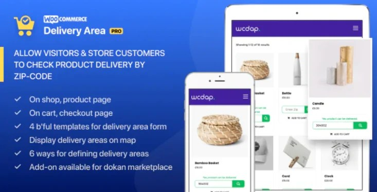 You are currently viewing WooCommerce Delivery Area Pro 2.2.2 – WordPress Plugin