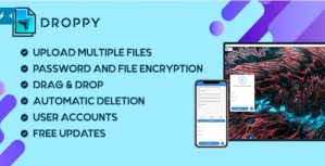 Read more about the article Droppy 2.3.7 NULLED – Online file transfer and sharing