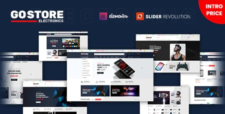 You are currently viewing GoStore 1.0.4 – Elementor WooCommerce WordPress Theme