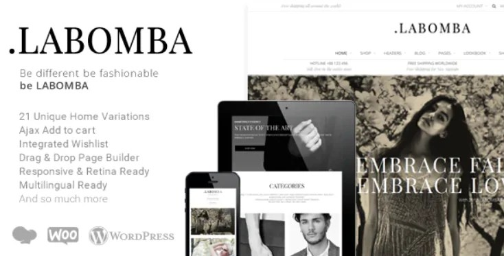 You are currently viewing Labomba 3.1 – Responsive Multipurpose WordPress Theme