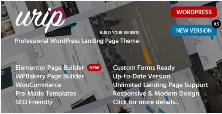 You are currently viewing Urip 8.6.3 NULLED – Landing Page WordPress Theme