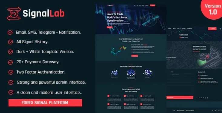 You are currently viewing SignalLab 1.0 NULLED – Forex And Crypto Trading Signal Platform
