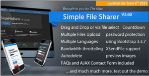 Read more about the article Simple File Sharer 3.60 – File Hosting Script