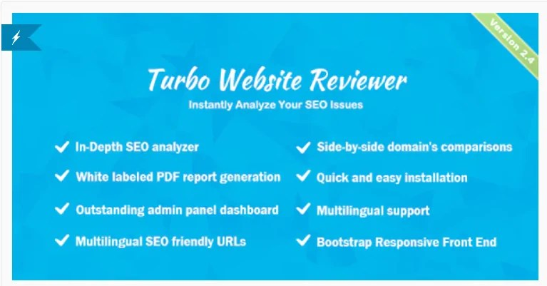 You are currently viewing Turbo Website Reviewer 2.4 Nulled – In-depth SEO Analysis Tool