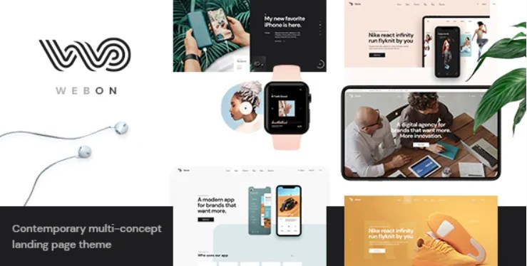 Read more about the article WebOn 1.3 NULLED – Landing Page WordPress Theme