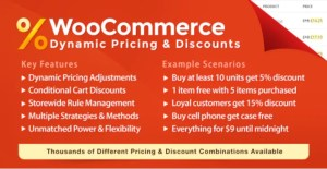 Read more about the article WooCommerce Dynamic Pricing & Discounts 2.4.3