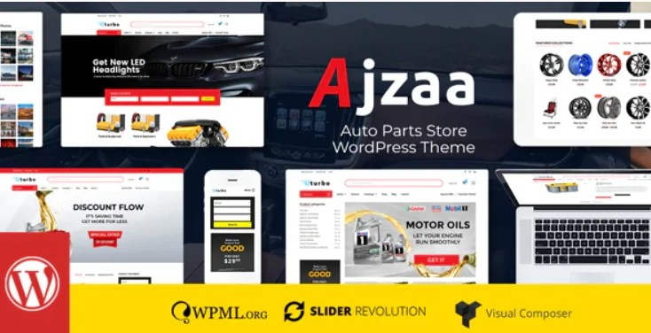 Read more about the article Ajzaa 3.1 – Auto Parts Store WordPress Theme