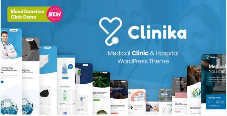 Read more about the article Clinika 1.8 – Medical Clinic WordPress Theme