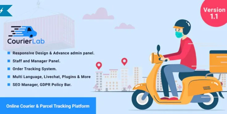 You are currently viewing CourierLab 1.1 NULLED – Online Courier Tracking Platform