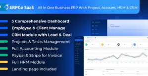 Read more about the article ERPGo SaaS 1.5 NULLED – All In One Business ERP