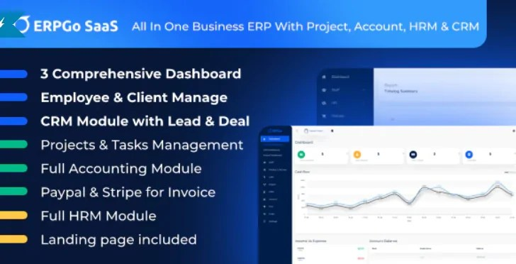 You are currently viewing ERPGo SaaS 1.5 NULLED – All In One Business ERP