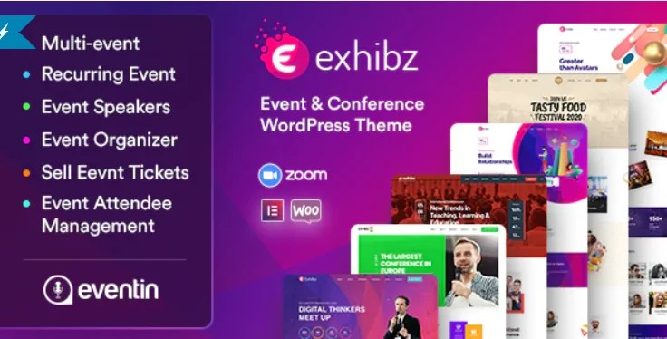 You are currently viewing Exhibz 2.3.4 – Event Conference WordPress Theme