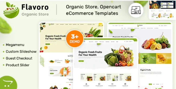 Read more about the article Flavero 2.0.4 – Organic Food OpenCart Store