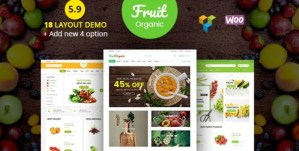 Read more about the article Food Fruit 5.9 – Natural RTL Responsive WooCommerce WP Theme