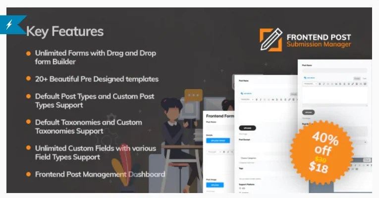 Read more about the article Frontend Post Submission Manager 1.3.3