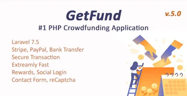 Read more about the article GetFund 5.2 – A Professional Laravel Crowdfunding Platform