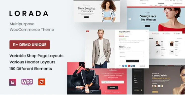 You are currently viewing Lorada 4.1.2 – Responsive Elementor eCommerce Theme